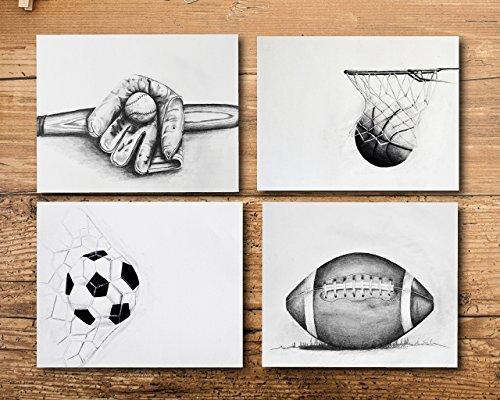 - Sports Art for Boys Room