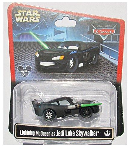 Disney Star Wars Pixar Cars Lightning McQueen As Jedi Luke
