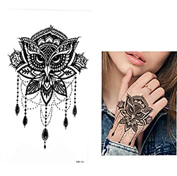 Tatuajes Temporales Unicornio Falso Blackbody Tattoo Temporal ...