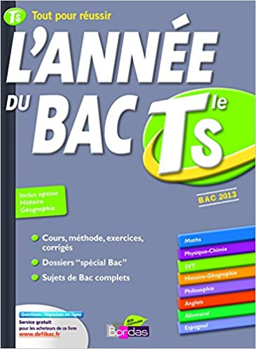 lannee du bac terminale s (French) Hardcover