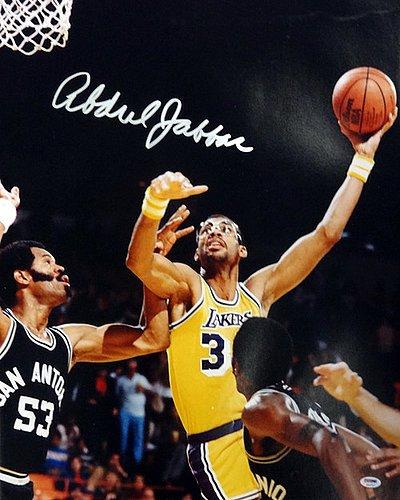Image Unavailable. Image not available for. Color  Kareem Abdul Jabbar  Signed 20x24 Photo Los Angeles - PSA DNA Authentication - Autographed NCAA 5de5d93ae