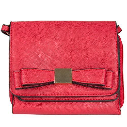(Mini Carson Crossbody Handbag for Kyocera Hydro Wave/Life / Icon, Black)