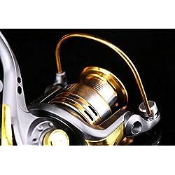 Agile-Shop Spinning Fishing Reel Metal Spool 6bb f