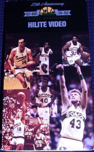 (Seattle Supersonics 25th Anniversary 1967- 1968 to 1991-1992 Hilite Video - 60 minutes of SONICS ! )