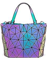 LOVEVOOK Handtasche Damen Geometrische Tasche Schultertaschen Umhängetaschen Einzigartige Handtasche