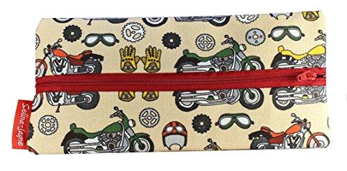 Selina-Jayne Vintage Bikes Limited Edition Designer Pencil Case