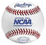 Rawlings Collegiate Flat Seam Baseballs, NCAA League, Box of 12, FSR1NCAA