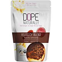 DOPE Naturally - Velocity, Organic Beet Root Powder, Naturally Caffeinated Superfood Blend, 14 Servings