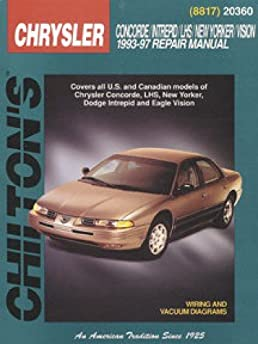 97 chrysler lhs repair manual how to and user guide instructions u2022 rh taxibermuda co 1997 chrysler lhs owners manual pdf 1998 Chrysler LHS