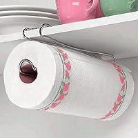 Under th Shelf Kitchen Bathroom Wall Mountable Ceiling Closets Paper Towel Holder