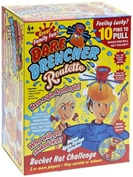 PMS Dare Drencher Roulette - Juegos Familiares - Juegos de Mesa - Juguetes para niños: Amazon.es: Juguetes y juegos