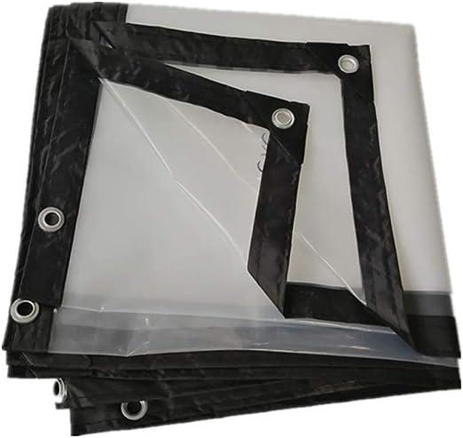 AtR Toldo Plástico Impermeable A Prueba de Viento Transparencia ...