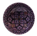 Ceramic Plates Moroccan Handmade Serving Wall Hanging Exquisite Colors Decorative 14 inches Diameter