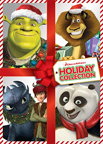DreamWorks Holiday Collection (Shrek the Halls / Merry Madagascar / Dragons Holiday: Gift of the Night Fury / Kung Fu Panda Holiday) ()