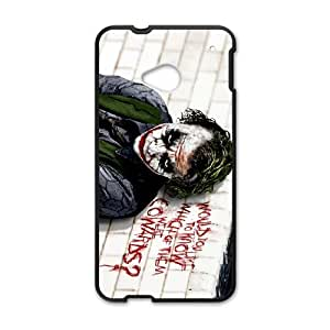 The Joker HTC One M7 Cell Phone Case Black Delicate gift JIS_321150