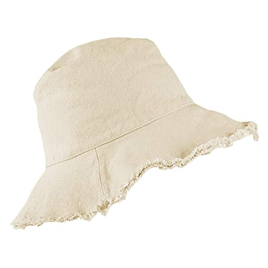 c8a22c0f0 Bucket-Hat Distressed Sun-Protection Washed-Cotton - Summer Wide ...