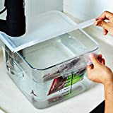 EVERIE Collapsible Hinged Sous Vide Container Lid