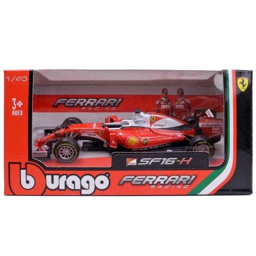 2016 Ferrari Racing Formula 1 SF16-H Sebastian Vettel #5 1/43 by Bburago 36803 SV