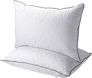 Sable King Size Pillows, 2 Pack FDA Registered Bed Pillows, Good for Neck Pain Sleeper, King Size 36×20 inch