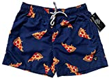 Official Molokai Swim Trunks and Shorts (Pizza, Medium)