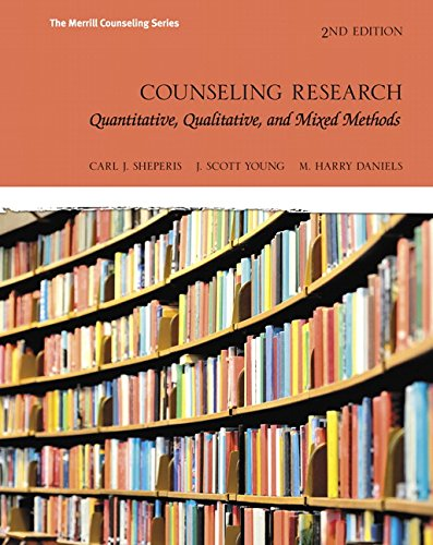 Counseling Research: Quantitative, Qualitative, and Mixed Methods (2nd Edition) (Merrill Counseling)