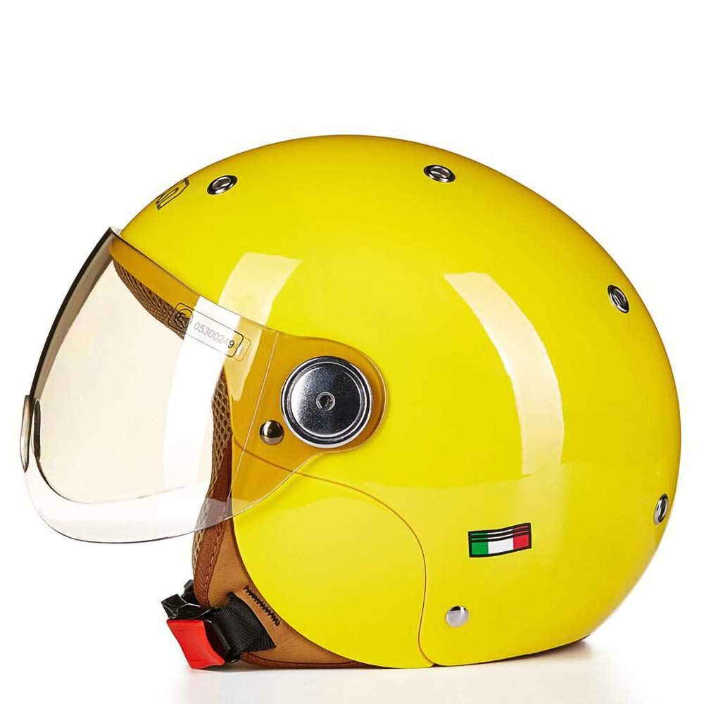 スケートボードのバイクBMXとスタントスクーターのための理想的な子供都市スケートヘルメットオレンジピンクイエローブルー年齢ガイド3-8歳男の子/女の子(52-54cm) (Color : Yellow)   B07Q3DHRDK