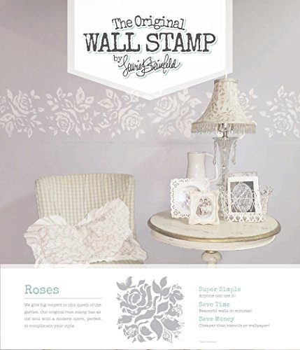 The Original Wall Stamp Designer Painting Template Roses