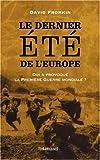 Image de Le dernier été de l'Europe (French Edition)