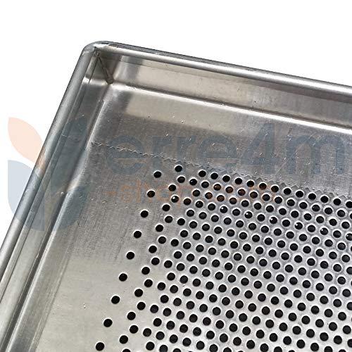 Bandeja de horno perforada 60 x 40 x 2 (H.) cm. (aluminio ...