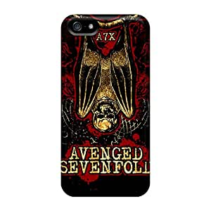 MSh4476xLWX Anti-scratch Case Cover NathanBy Protective Avenged Sevenfold Case For Iphone 5/5s