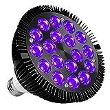 Black Light Bulb, KINGBO 36W LED Blacklight E26