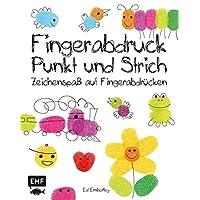 Fingerabdruck, Punkt und Strich: Zeichenspaß auf Fingerabdrücken