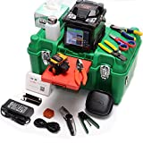 KomShine GX36 Fiber Optic Welding Machine Fusion Splicer With Cleaver + QX50-M 850/1300nm 18/12dB MM OTDR Meter + Power Meter + Light Source + VFL 3-5km