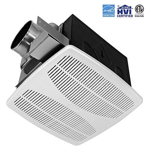 BV Ultra-Quiet 90 CFM, 0.7 Sone Bathroom Ventilation And