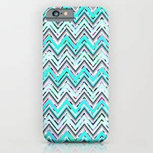 Society6 - Mint Waves iPhone 6 Case by Ornaart