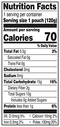 Earth's Best Organic Stage 3, Pumpkin, Cranberry & Apple, 4.2 Ounce Pouch (Pack of 12) (Packaging May Vary) by Earth's Best (Image #1)'