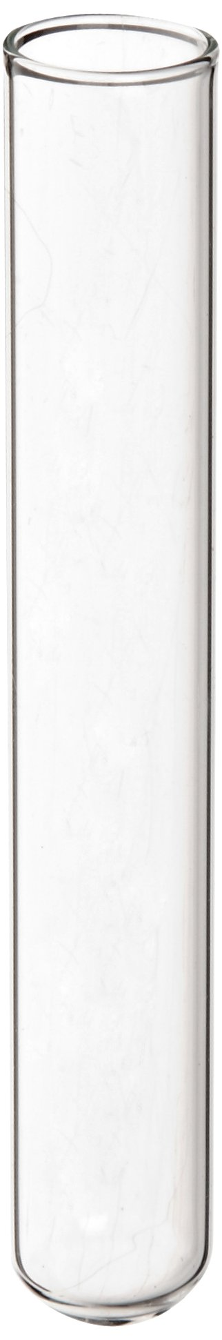 Kimble-Chase 73500-1275 N-51A Borosilicate Glass Culture/Test Tube, with Rim Top (Case of 1000)