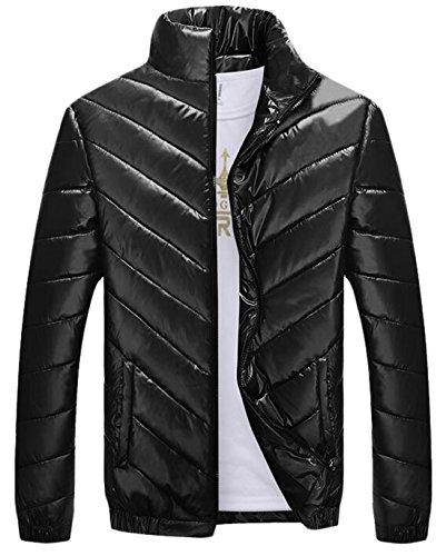 Eku Inverno Addensare Uomo Black Piumino Noi Cappotto Xs Caldo Outwear Da pqrR0dqw