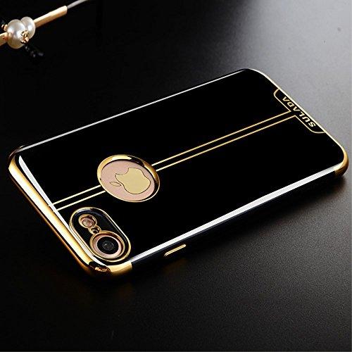 SULADA Electroplating TPU Soft Protection Tasche Hüllen Schutzhülle - Case für iPhone 7 4.7 Inch - Gold