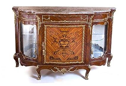 Credenza Antica Per Cucina : Louisxv barocco credenza stile antico moba14581: amazon.it: casa e