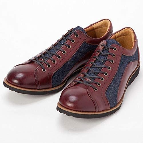 日本製 岡山デニム&姫路レザー 倭イズム 奈良産 ソフトな履き心地 ヤマトイズム 本革 メンズシューズ スニーカー 靴 革靴 YA3310