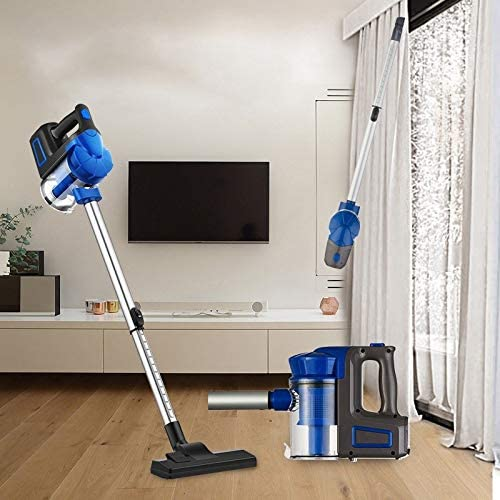 GLGLZBDPPLIU Lgl-cqs Montant Aspirateur, Aspirateurs Ménagers Portable Petit Aspirateur À Main (Color : Blue-B) Pink