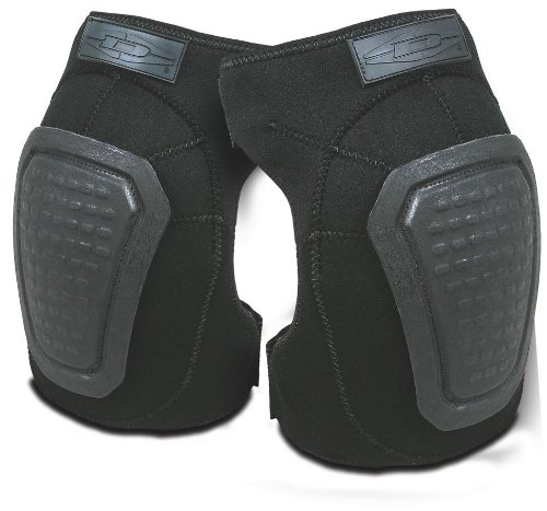 Damascus DNKPB Imperial Neoprene Knee Pads with Reinforced Non-slip Trion-X Caps, Black