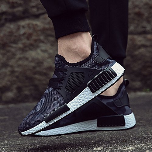 XIANV Sneakers Basses Homme Noir A3ITVHOaX