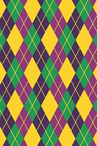 - Mardi Gras Pattern - Carnival Decoration 11: Blank Lined Notebook for Mardi Gras and Carnival Lovers