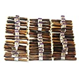 Nature Gnaws Large Bully Sticks 5-6 inch (Bulk 100 Count) - 100% Natural Grass-Fed Beef Dog Chews