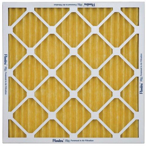 Flanders NaturalAire Pre-Pleat 62R Air Filter, MERV 11, 20 x 25 x 4-Inch, 6-Pack