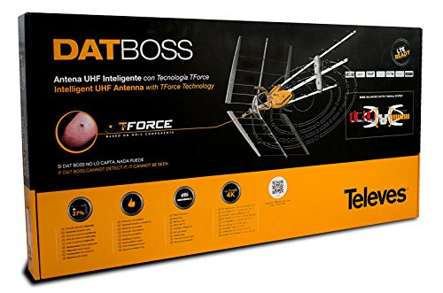 Amazon.com: Televes DATBOSS UHF Amplified Outdoor HDTV Antenna LTE Filter (149983): Electronics