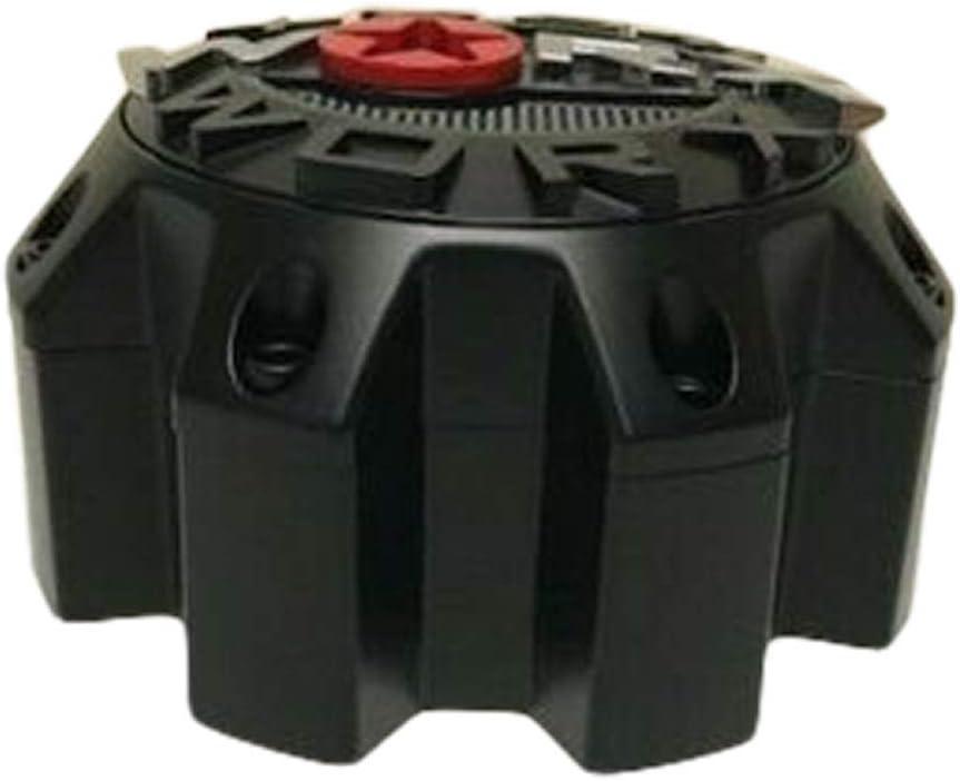 Worx by Ultra 8 Lug Matte Black Wheel Center Cap 30171765F-A 2-Inch Spacer
