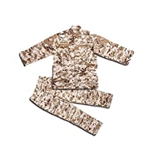 Children's camouflage tactical suit Bdu Uniform Outdoor Parent-Child Coat+Pants